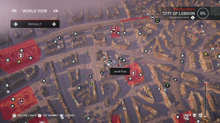Assassins Creed Syndicate Secrets Of London location City Of London 1