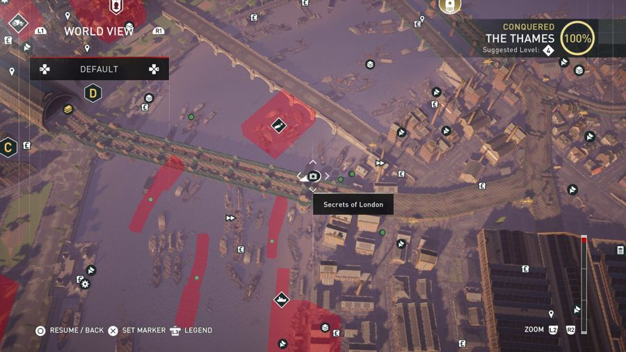 Assassins Creed Syndicate Secrets Of London location Thames 3