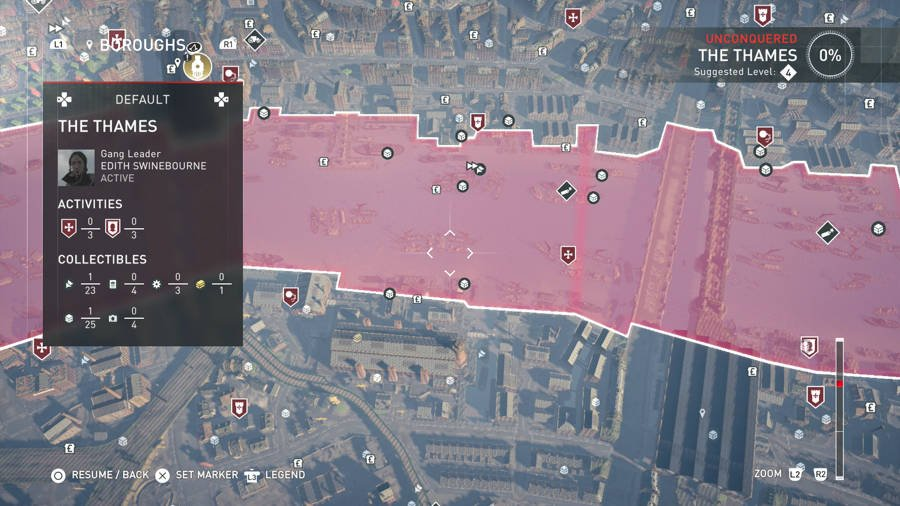Assassins Creed Syndicate The Thames 1 Treasure Map Guide