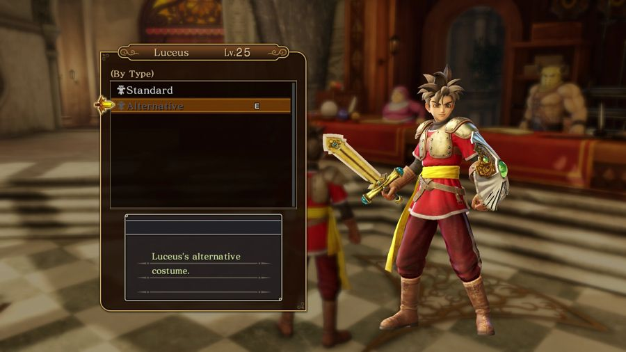 How To Get New Outfits For Your Characters In Dragon Quest Heroes