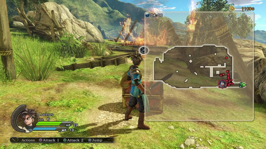 Dragon Quest Heroes Mini Medal Location 1
