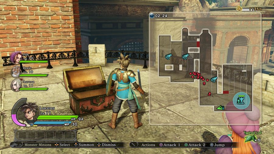 Dragon Quest Heroes Mini Medal Location 4