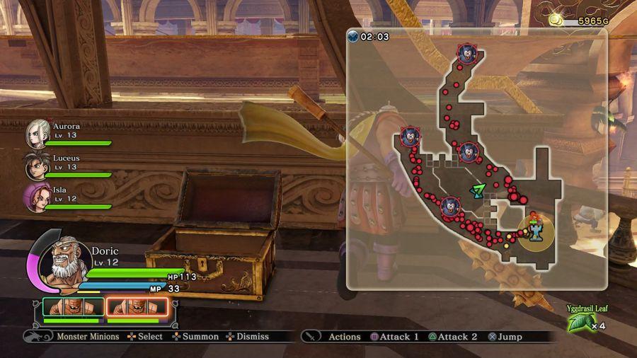 Dragon Quest Heroes Mini Medal Location 5