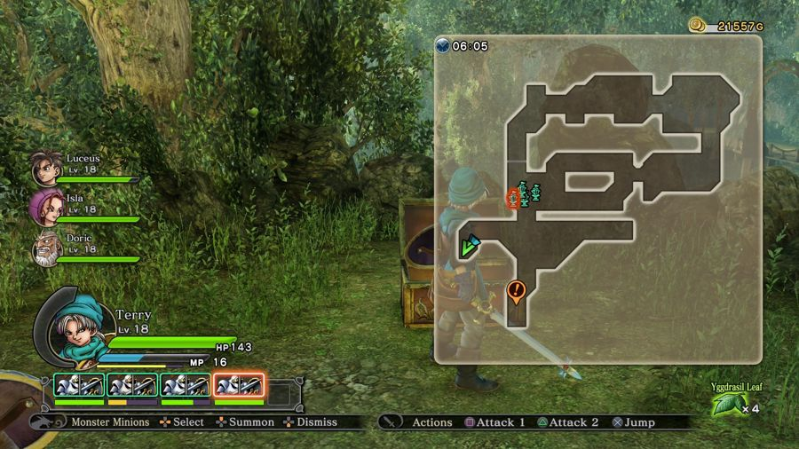 Dragon Quest Heroes Mini Medal Location 6