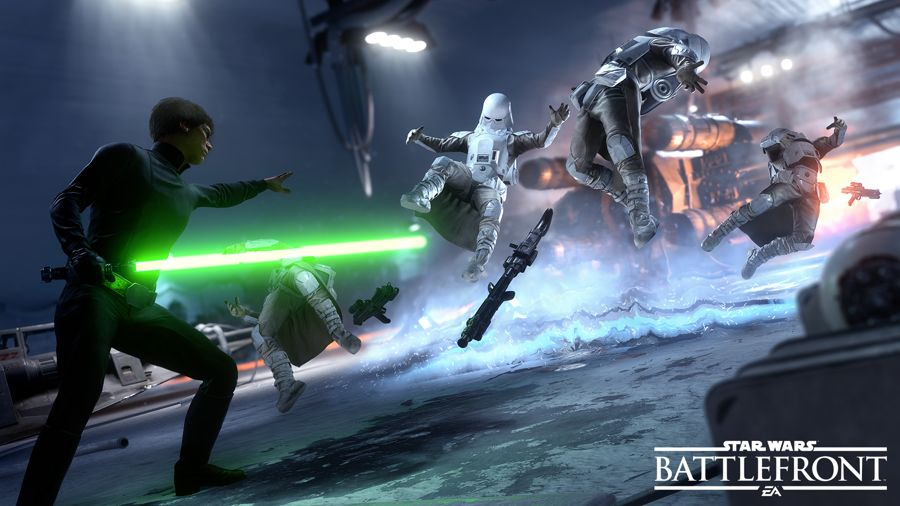 How To Become Luke And Darth Vader In Star Wars Battlefront