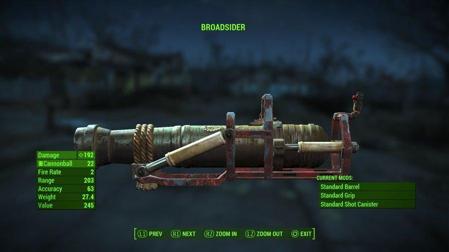 Fallout 4 Cannon