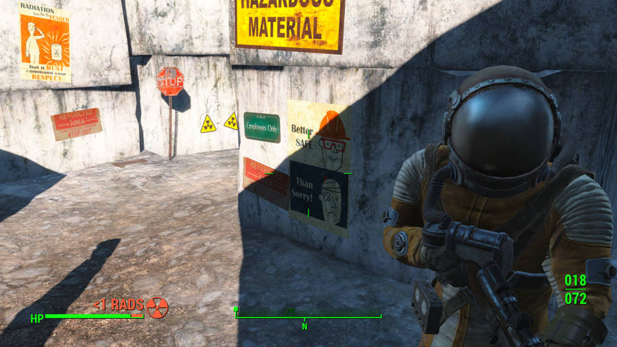 Fallout 4 Guide - Where To Find A Hazmat Suit - Radiation Protection
