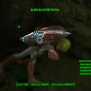 Fallout 4 Guide – Where To Find The Alien Blaster Pistol