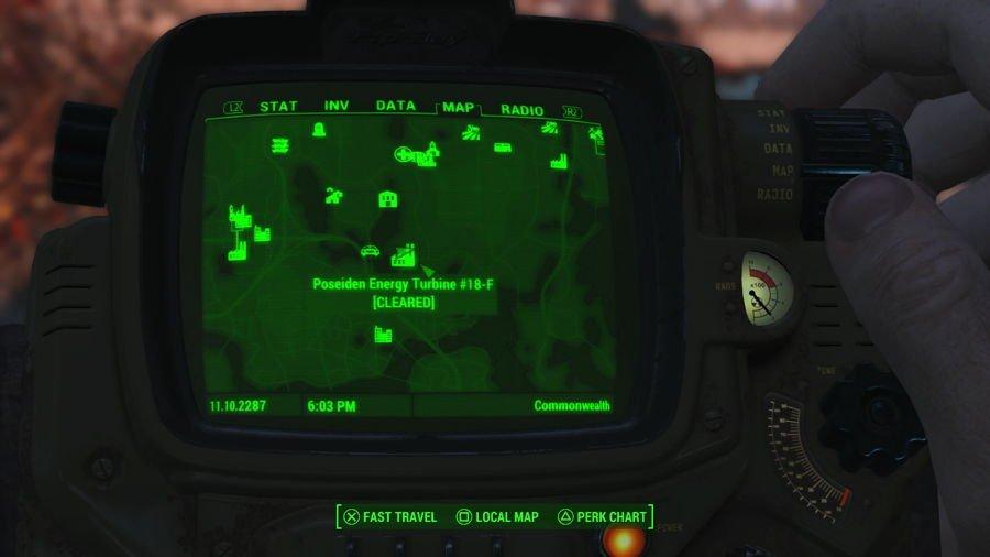 Fallout 4 Legendary Bloatfly location