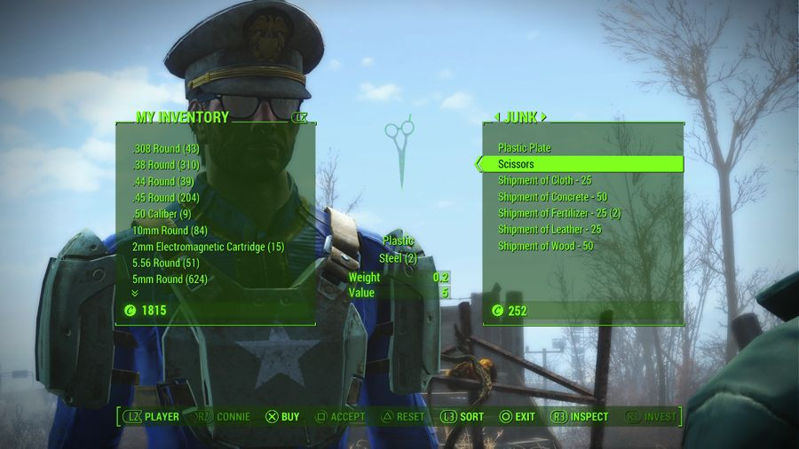 Fallout 4 - List Of Vendors Who Sell Settlement Material Shipments