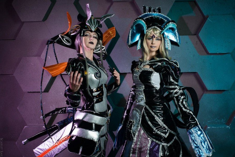 Meyneth and Vanea Xenoblade Cosplay - Gamers Heroes
