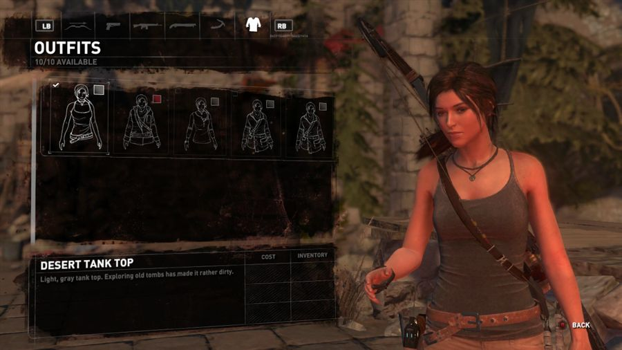 Rise Of The Tomb Raider Outfit 1