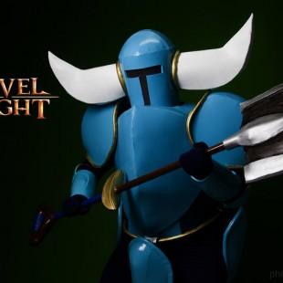 Cosplay Wednesday – Shovel Knight's Shovel Knight