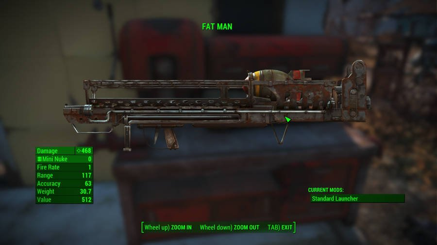 Where To Find The Best Weapons In Fallout 4 - Fat Man
