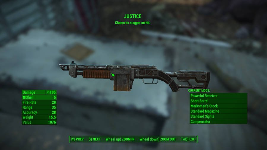 Where To Find The Best Weapons In Fallout 4 - Justice