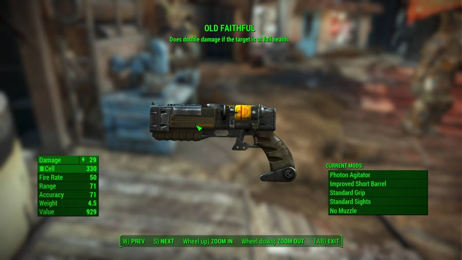 Where To Find The Best Weapons In Fallout 4 - Old Faithful