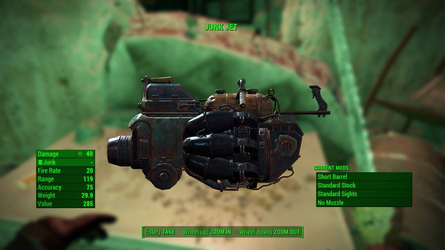 Where To Get The Best Fallout 4 Weapons - Junk Jet