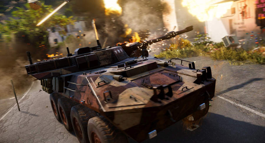 Just Cause 3 How To Get An Awesome Tank Early