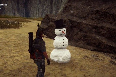 Mr. Snowman Easter Egg Makes A Return In Just Cause 3