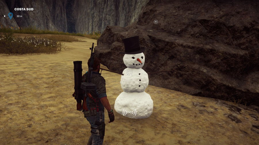 Mr. Snowman Makes A Return In Just Cause 3