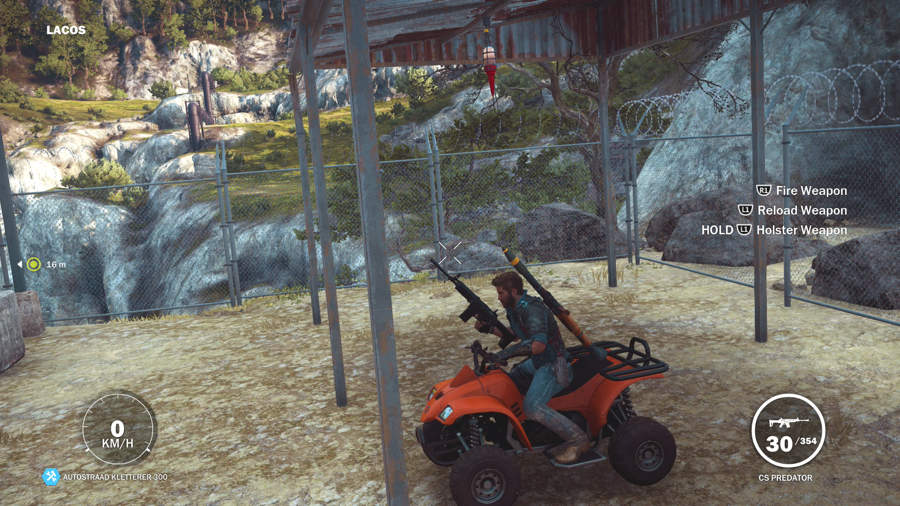 Just Cause 3 Vehicle Location Guide - Autostraad Kletterer 300