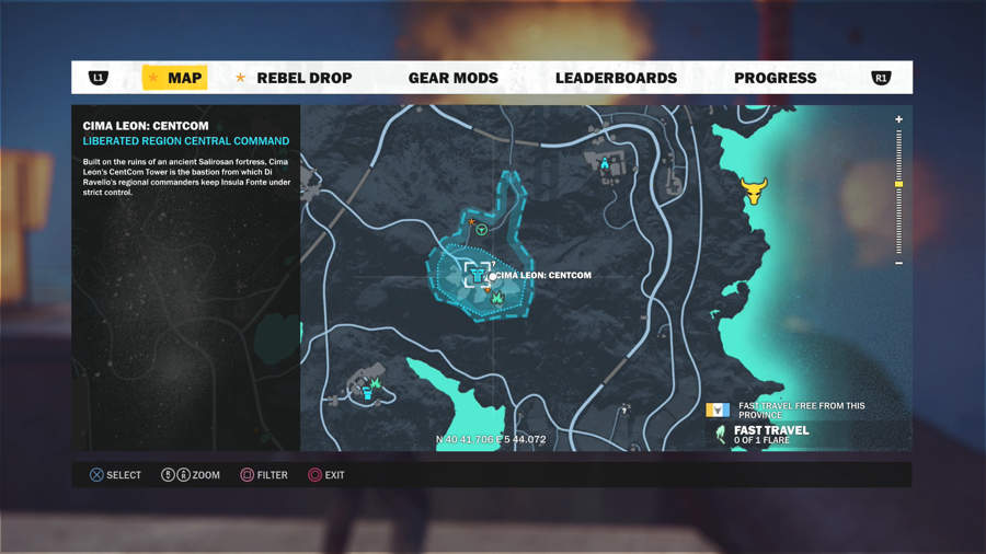 Just Cause 3 Vehicle Location Guide - CS Comet Location