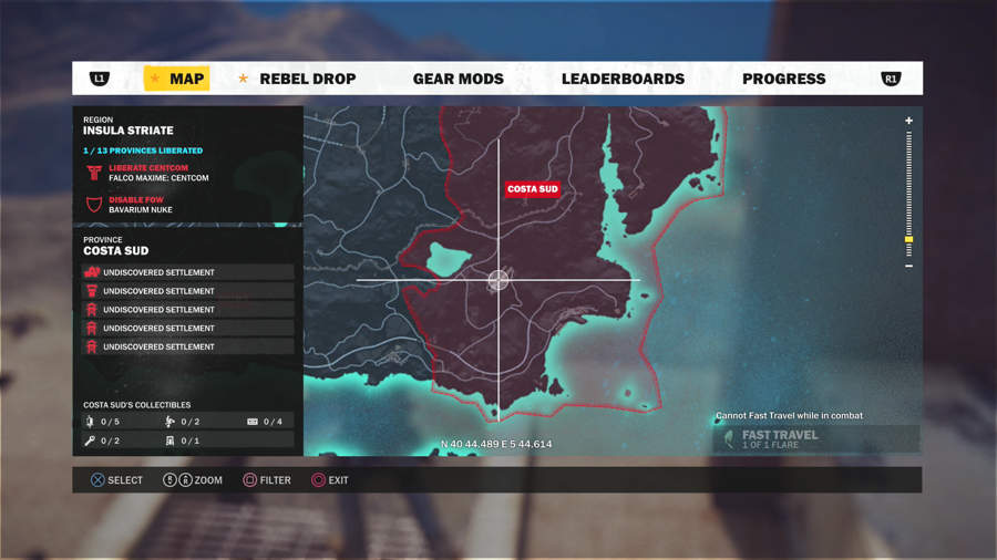 Just Cause 3 Vehicle Location Guide - CS7 Thunderhawk Location