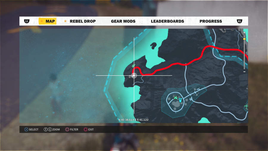 Just Cause 3 Vehicle Location Guide - MV402 Location