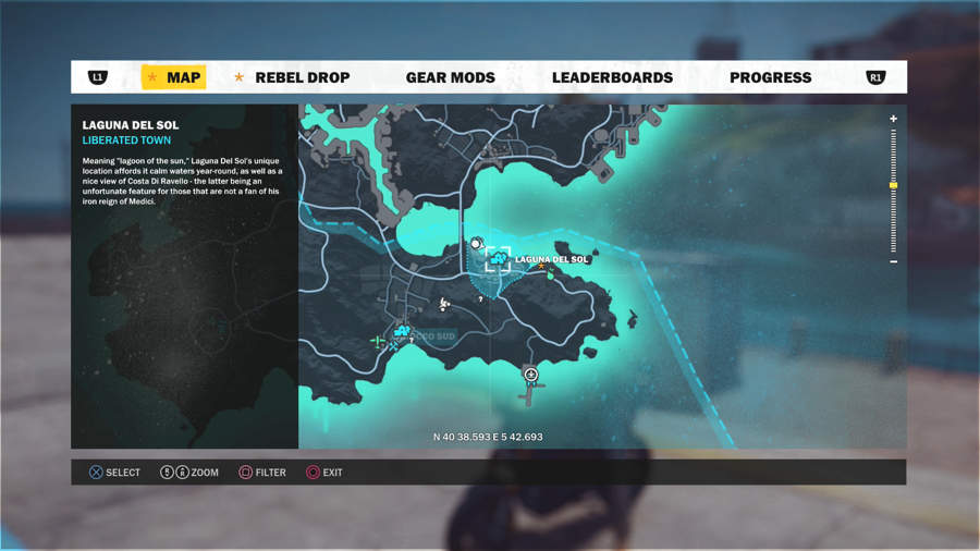 Just Cause 3 Vehicle Location Guide - Mugello Furia MS-316 Location