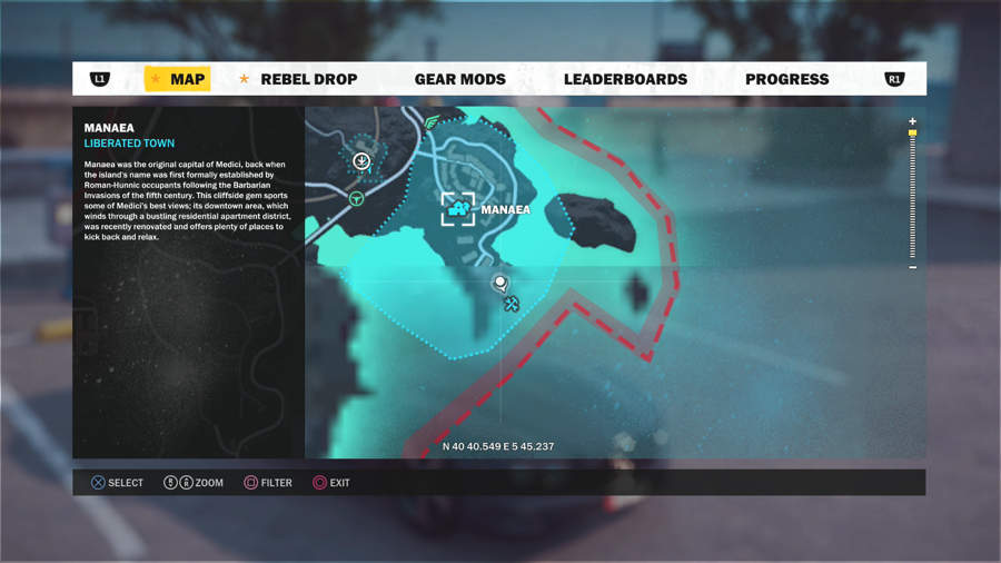 Just Cause 3 Vehicle Location Guide - Stria Kerner Serpente R Location