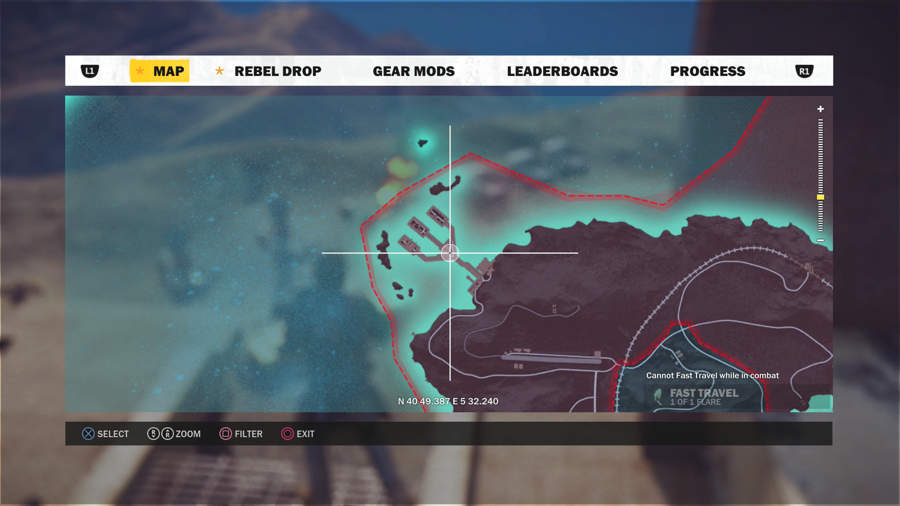 Just Cause 3 Vehicle Location Guide - U-7 Dravec Location