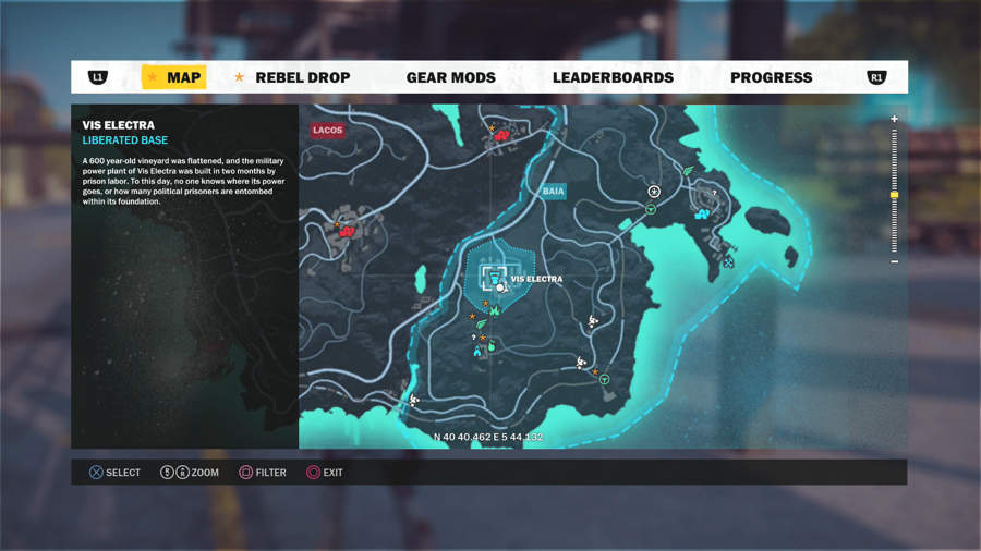 Just Cause 3 Vehicle Location Guide - Urga Postolka Location
