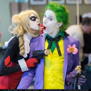 Cosplay Wednesday – Batman's Joker and Harley Quinn