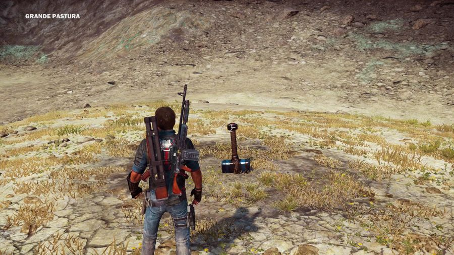 Check Out The Thor's Hammer Easter Egg In Just Cause 3
