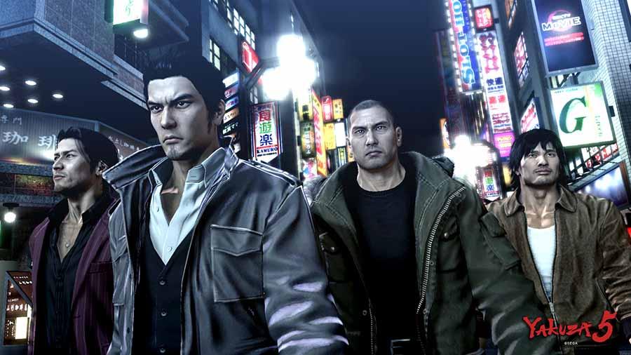 Yakuza 5 - Gamers Heroes
