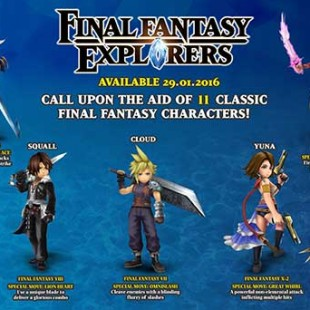 Final Fantasy Explorers Legacy Trailer Showcases Legendary Final Fantasy Characters