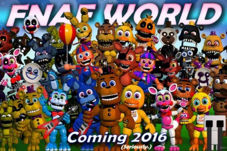 Five Nights at Freddy's  World Out Now On Steam