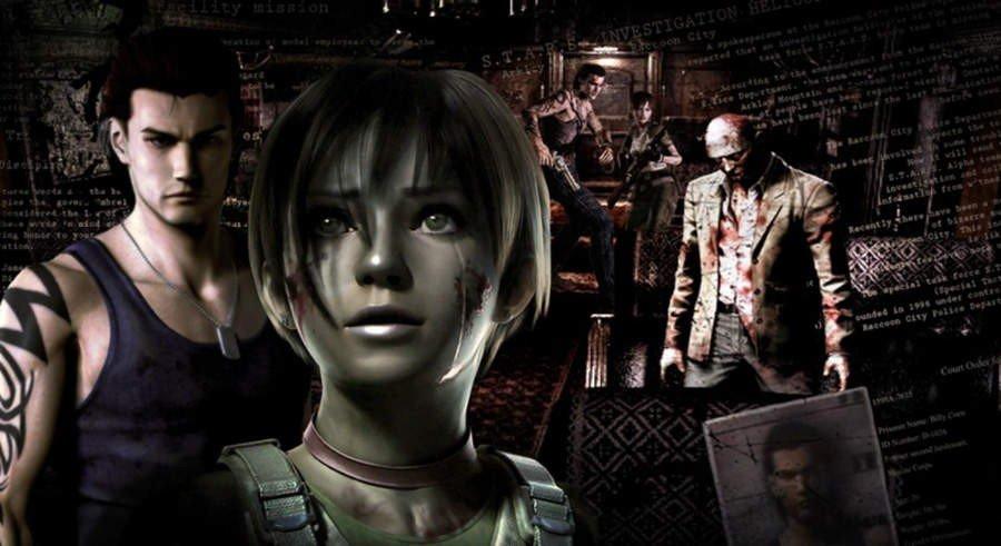 Resident Evil Zero HD Remake
