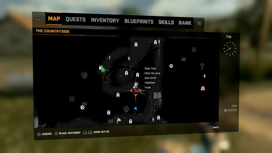 Dying Light The Following Beelzebufo Location