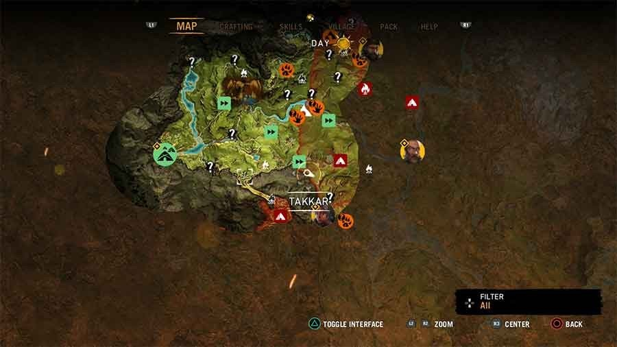 Far Cry Primal Beast Taming Guide - Rare Black Lion Location