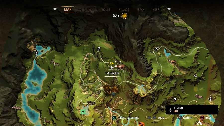Far Cry Primal Beast Gaming Guide - Brown Bear Location