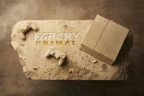 Check Out This Hand Carved PlayStation 4 & Controller To Celebrate Upcoming Far Cry Primal Launch