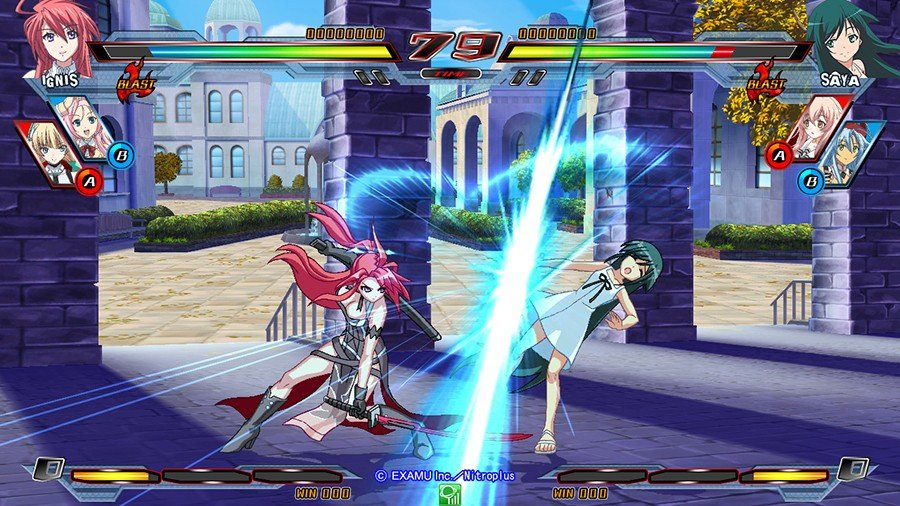 Nitroplus Blasterz Review - Gamers Heroes