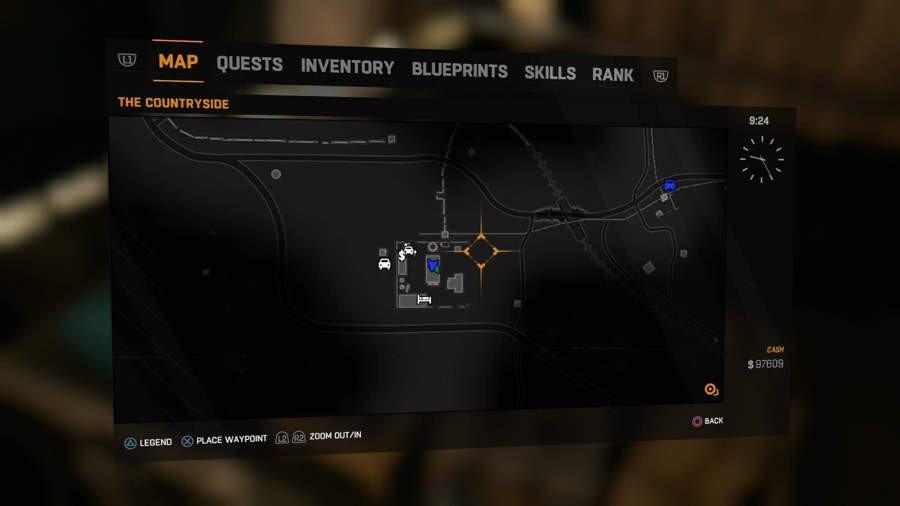 Phlebotomizer Blueprint Location