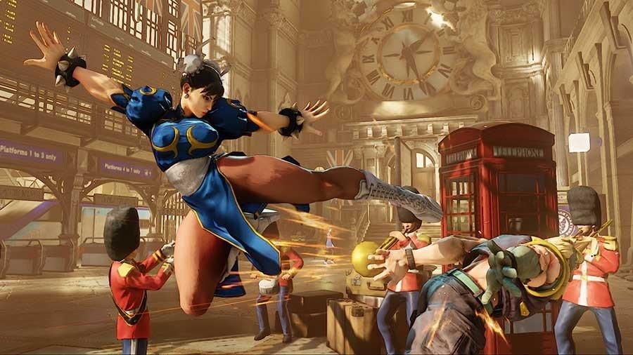 Street Figher V - Gamers Heroes