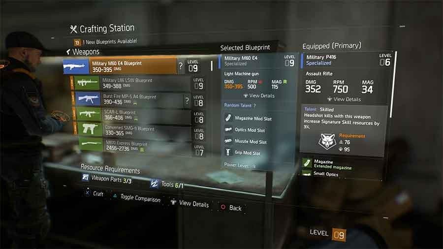 Military M60 E4 Blueprint