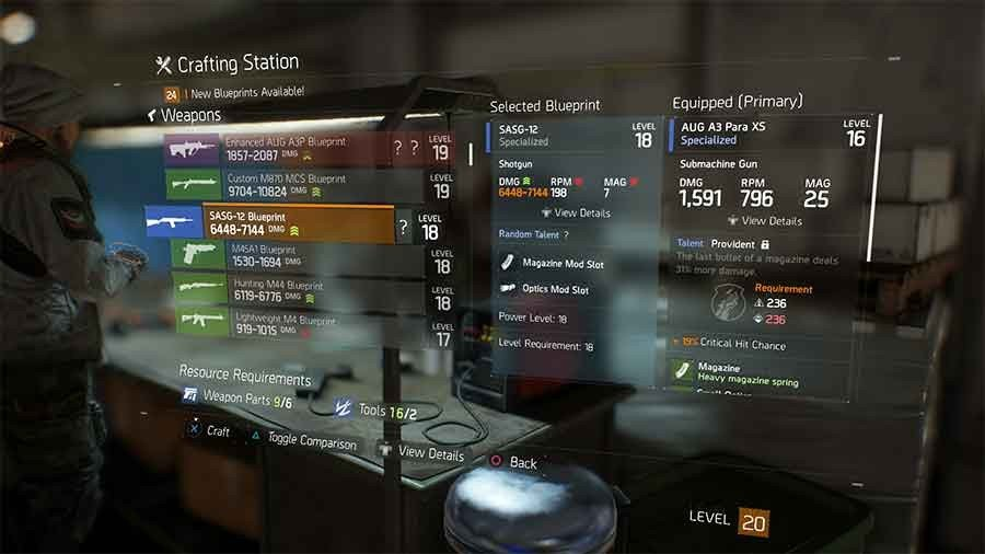 Tom clancys the division crafting blueprints location guide all sasg 12 blueprint malvernweather Gallery
