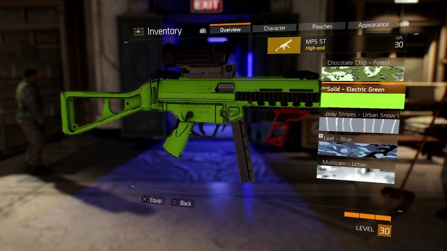The Division Weapon Skin 1