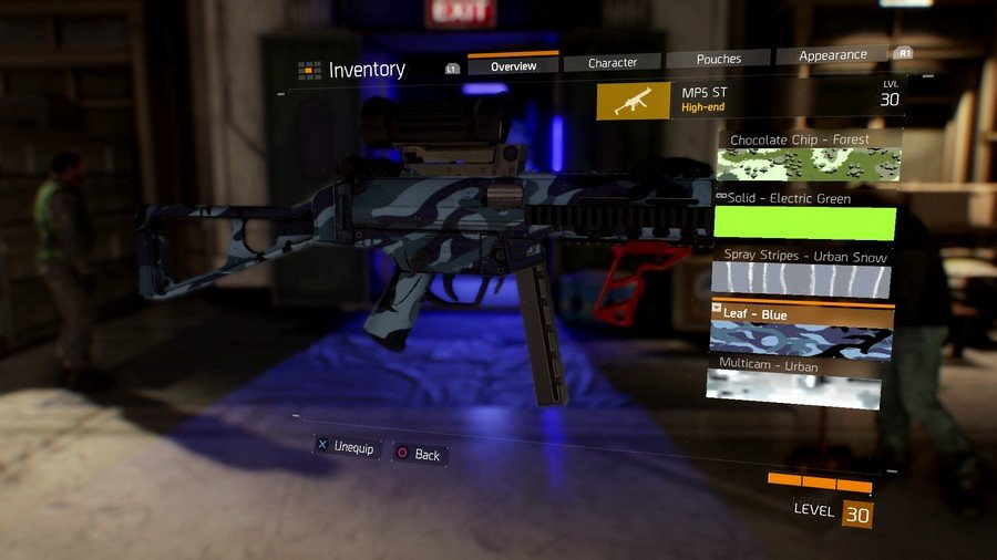 The Divison Weapon Skin 3