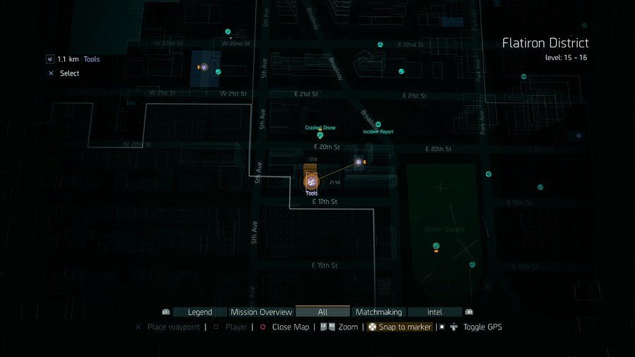 Where To Find Lots Of Tools In The Division
